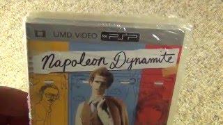 Napoleon Dynamite PSP UMD Video Disc Unboxing
