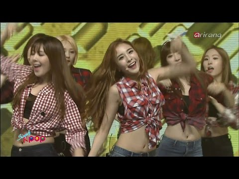 150911 SONAMOO (소나무) - 빙그르르 (Round N Round) @ Simply K-pop