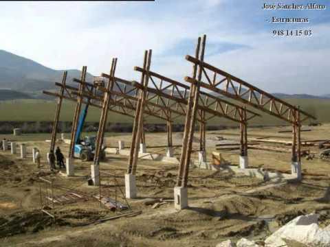 Proyecto estructura de madera youtube - Estructura de madera para piscina ...
