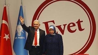 Ak Parti referandum kampanyasını Ankara'da başlattı