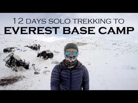 [VLOG] 12 Days Solo Trekking to Everest Base Camp