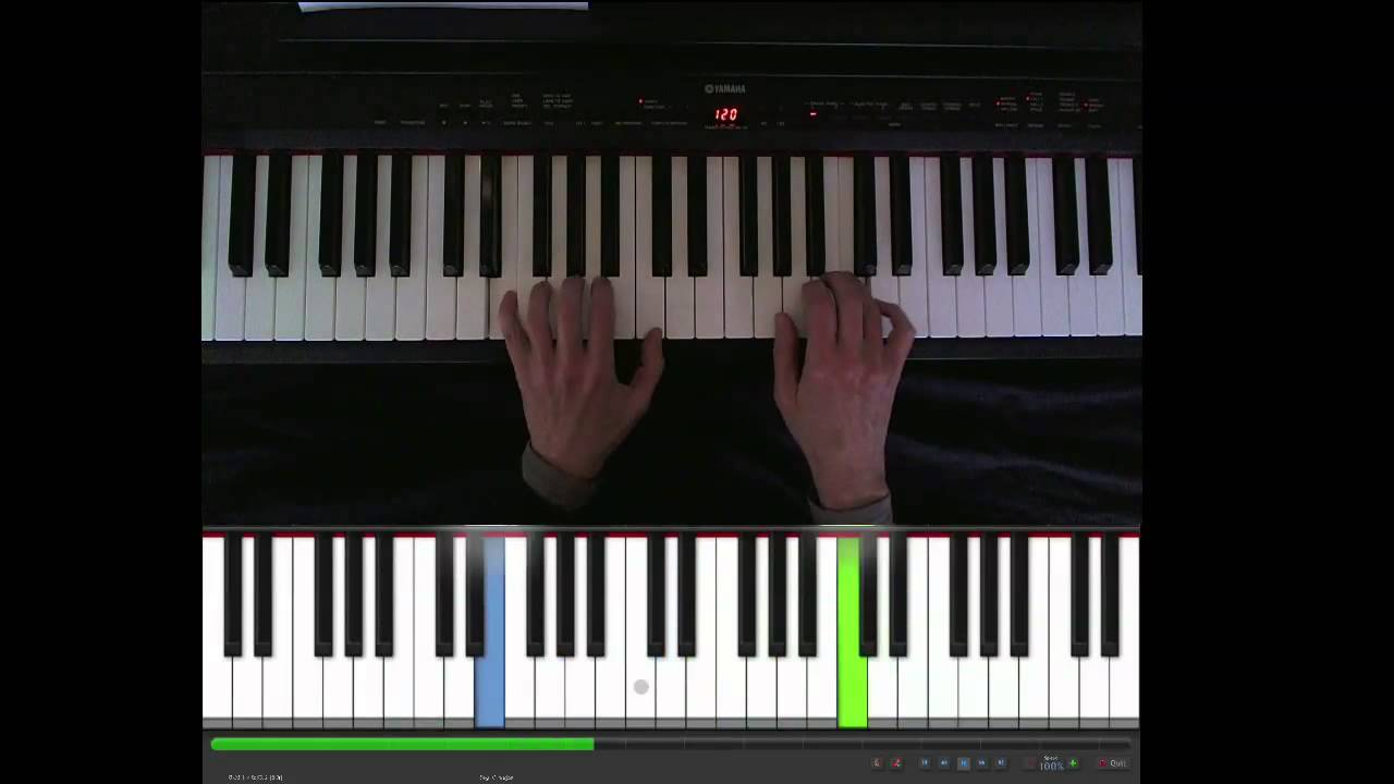 Edelweiss Sound Of Music Easy Piano With Sheet Music Easy Piano Piano Piano Tutorials