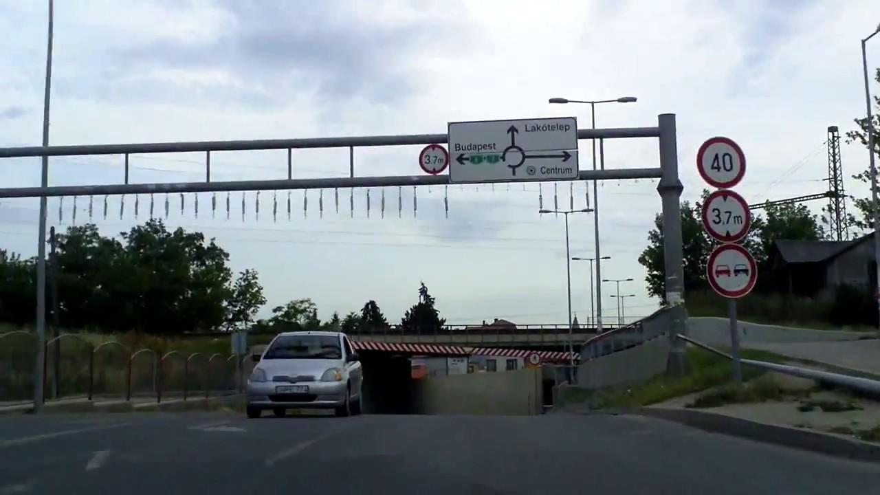 Érd, Diósdi úti aluljáró oda-vissza /Diósdi road underpass, Érd