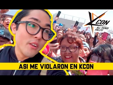 Thumbnail: ¡TODO SE DESCONTROLO! KCON MEXICO | kenroVlogs