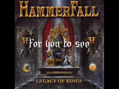 Hammerfall - Dreamland (lyrics)