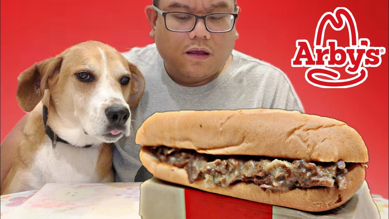 Arby's Roast Beef Fire-Roasted Philly