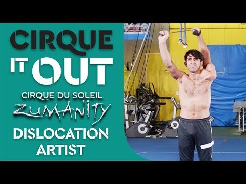 Flexible Dislocation Artist Workout | Total Body Circuit Style Exercises | Cirque It Out #8 Zumanity