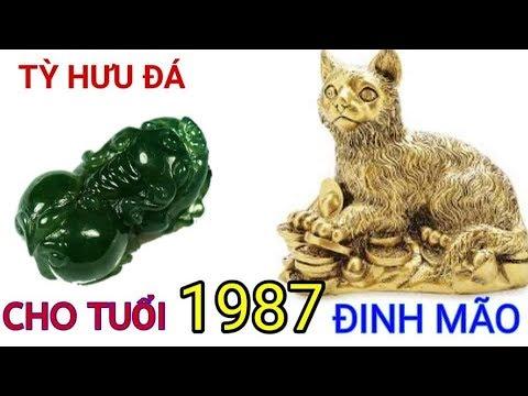 Tỳ Hưu Cho Tuổi Đinh Mão 1987 | Trang Sức Cho Tuổi Dinh Mao 1987 | Đá Phong Thủy MsTrang