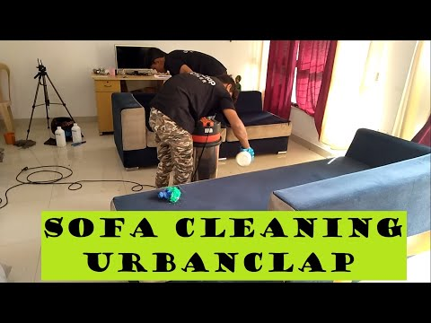 Detailed Review of Sofa Cleaning by UrbanClap