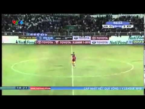 Những bàn thắng của Công Phượng, Tuấn Anh, Xuân Trường - Vòng 1 V-League 2015