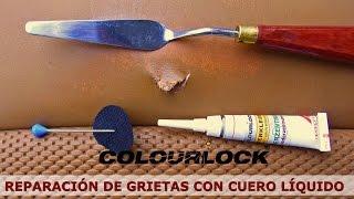Reparación de grietas con cuero líquido - www.porres.es