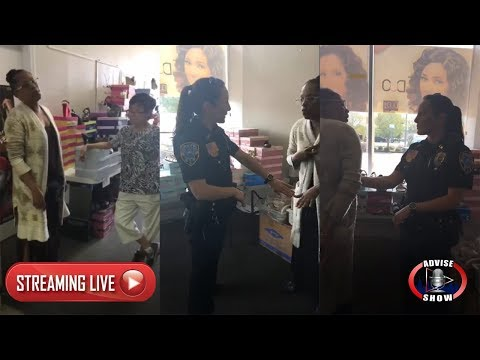 African American Woman Falsely Accused Of Stealing From Asian Beauty Supply Store   LIVE
