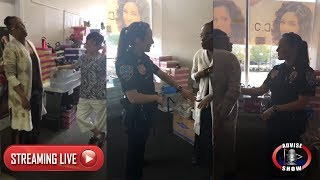 African American Woman Falsely Accused Of Stealing From Asian Beauty Supply Store | LIVE
