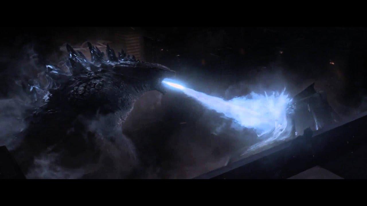 Godzilla Atomic breath 2014 - YouTube