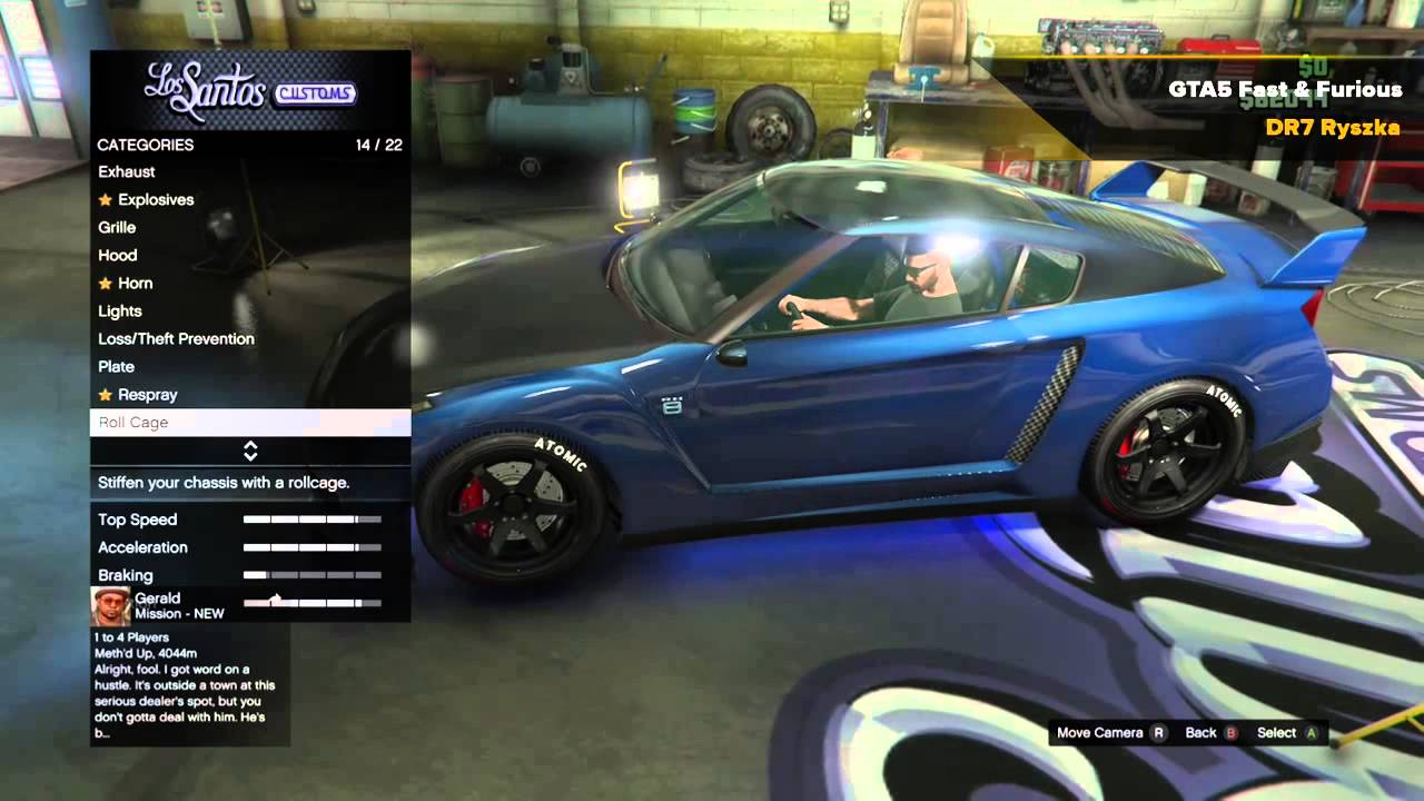 GTA 5 - Fast and Furious - Brian O'Conner's GTR - YouTube