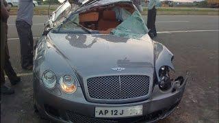 Supercar Crashes in India