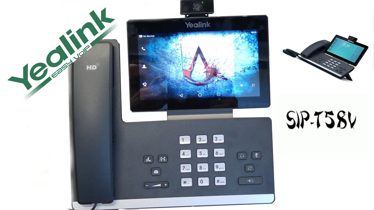 Yealink T58V (android) the first look