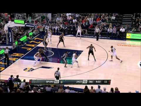 San Antonio Spurs vs Utah Jazz | November 4, 2016 | NBA 2016-17 Season
