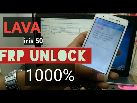 Lava iris 50 FRP Unlock ( Google Account Remove ) 1000% Solution