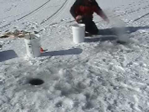 CMF Chad Miller Ice Fishing Yuba Reservoir Utah