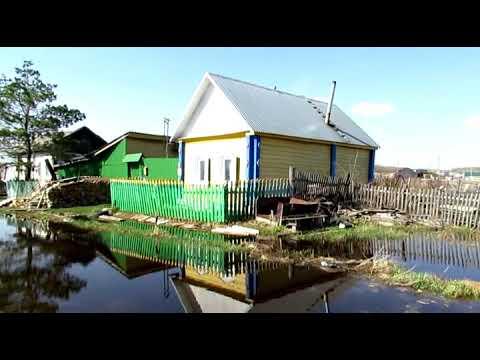 7 05 2019  Состояние паводка в Тюкалинске искусственно продолжается