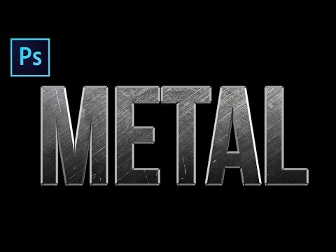 How To Create A Metal Text Effect In Photoshop