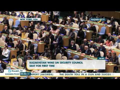 Kazakhstan wins UN security council seat for first time - Kazakh TV
