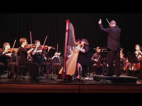 Handel - Harp Concerto in B flat Major,  Morgan Mackenzie Short, 2014 Young Artist Concerto Winner