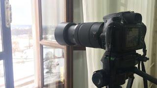 Обзор объектива Sony DT 55-300 mm