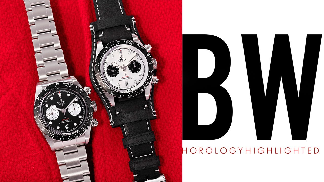 I CALLED THIS WATCH - Tudor Black Bay Chrono PANDA and REVERSE PANDA