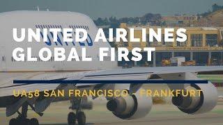 Video United Airlines Global First UA58 San Francisco-Frankfurt Flight Report ATC Channel 9 聯合航空頭等ユナイテッド download MP3, 3GP, MP4, WEBM, AVI, FLV November 2018