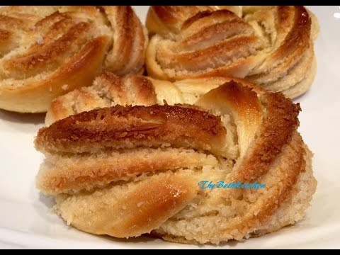 Bánh Mì Ngọt Nhân Dừa - How to make Sweet Coconut Bread with no bread machine