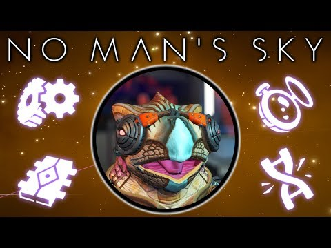 TRADING COMMODITIES & UPGRADES FOR THE FIGHTER in No Man's Sky