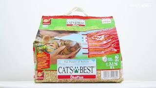 Древесный наполнитель Cat's Best Oko plus