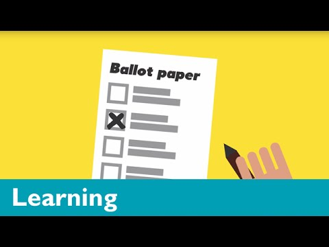 Elections and voting explained