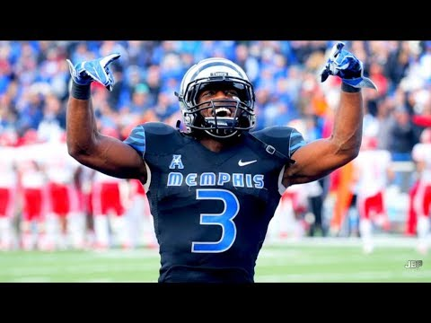 Most Underrated WR in College Football    Memphis WR Anthony Miller 2017 Highlights ᴴᴰ