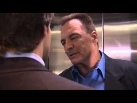 Scene from the movie Surveillance, with Armand Assante
