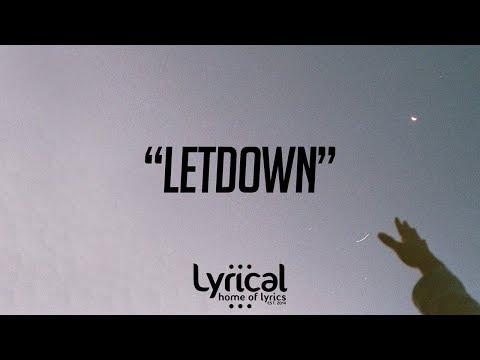 CaRter - Letdown Lyrics