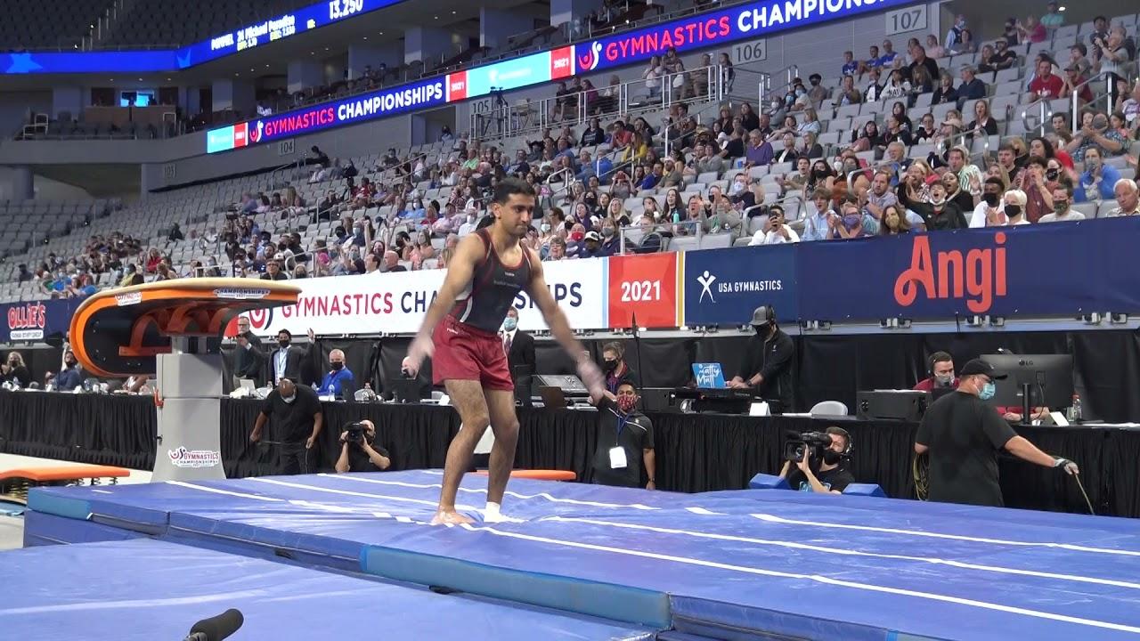 US Championships Men's Gymnastics Session 2