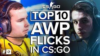 The Top 10 AWP Flicks in CS:GO