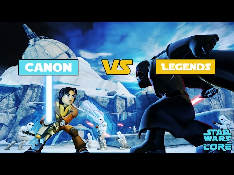 Star Wars Lore - Canon vs Legends