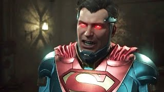 Injustice 2 - Chapter 1 - All Cutscenes [Full Movie]