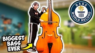 I Played the BIGGEST BASS in the WORLD (Record)