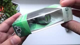 ОБЗОР SKYWAY AUTO ► мощная автомобильная зарядка 36 Вт / QC 3.0 / 2 USB