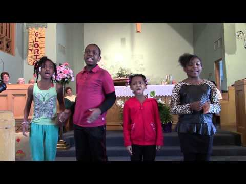"Hope's Kids' Gospel Choir Sings ""This Is The Day That The Lord Has Made"