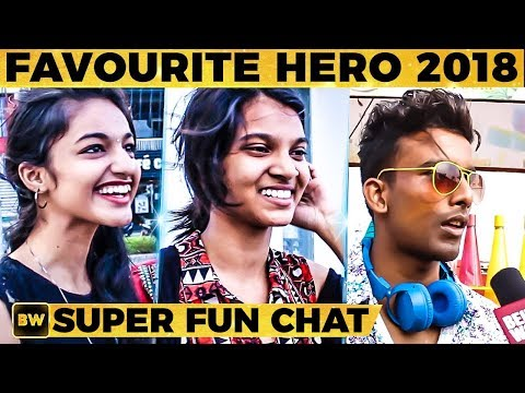 SUPER CUTE THALAPATHY FANS Roar!!- Favorite Heroes & Heroines of 2018