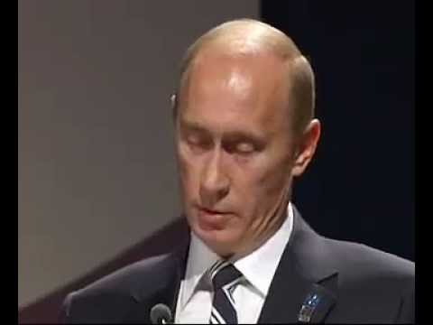 Vladimir Putin's English Speech 2014 Winter Olympics Sochi