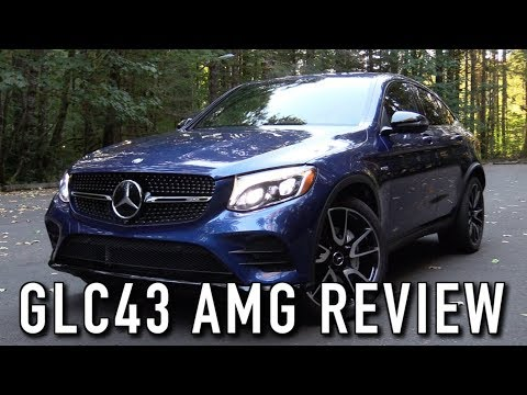 2018/2019 Mercedes-AMG GLC43 Coupe: Start Up, Test Drive & In Depth Review