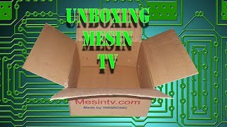 unboxing mesin tv