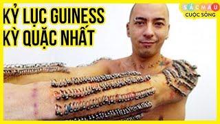 10 Kỷ lục Guiness KỲ QUẶC NHẤT thế giới - Như này mà được công nhận sao?